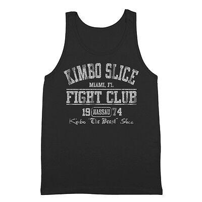 Kimbo Slice Fight Club Miami  Mma  Boxer  Gym  The Beast Black Tank Top