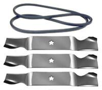 Husqvarna Gt 2254 54 Lawn Mower Deck Maintenance Kit Belt Blades Free Shipping