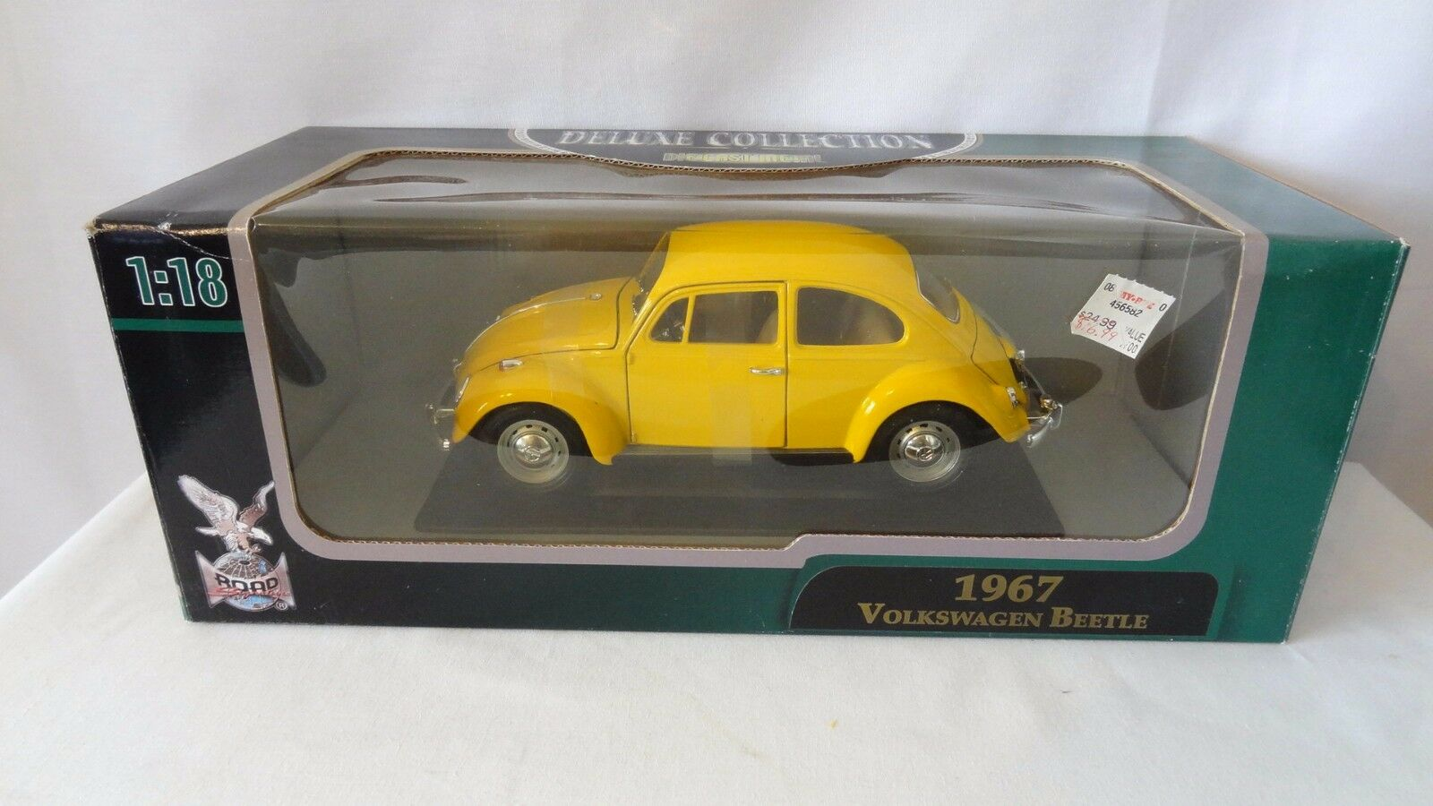 Deluxe collection 1997 vw käfer 1,18 metall - spritzguss mib   h232
