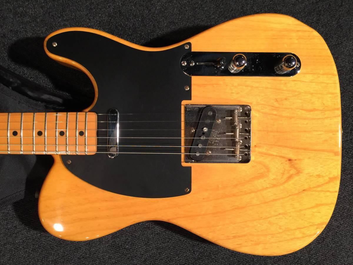 Fender Japan TL52-80TX VNT M beautiful rare EMS F S