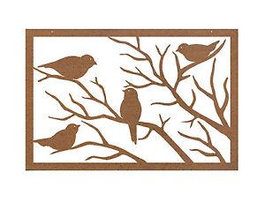 Sparrow-Metal-Garden-Wall-Art-Panel-one-Australian-Made