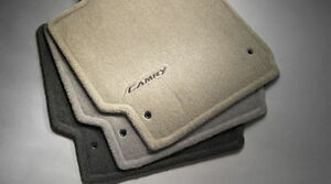 new 2007 2010 toyota camry floor mats dark charcoal ebay. Black Bedroom Furniture Sets. Home Design Ideas