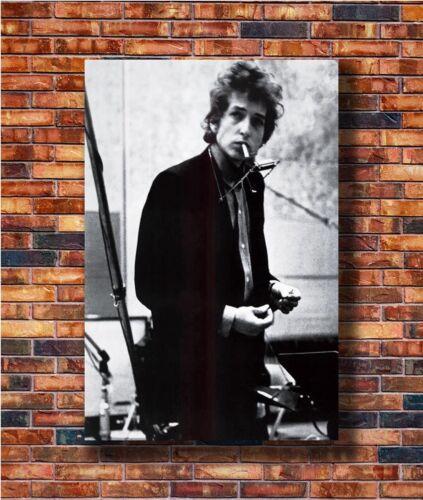 Hot Fabric Poster Bob Dylan Music Star Print 36x24 30x20 40x27inch Z2803