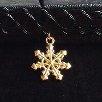 Golden CHRISTMAS Tattoo Choker Stretch Necklace Pendant Henna Vintage Elastic