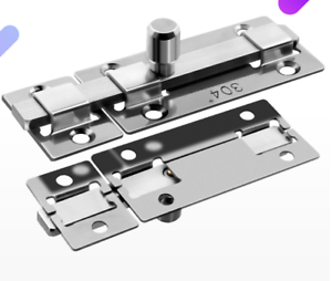 Thick Stainless Steel Latch Security Anti-theft Door Guard Hardware Bolt Lock UK