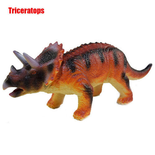 Large Soft Rubber Stuffed Dinosaur Toy Model Action Figures Play For Kid  TR