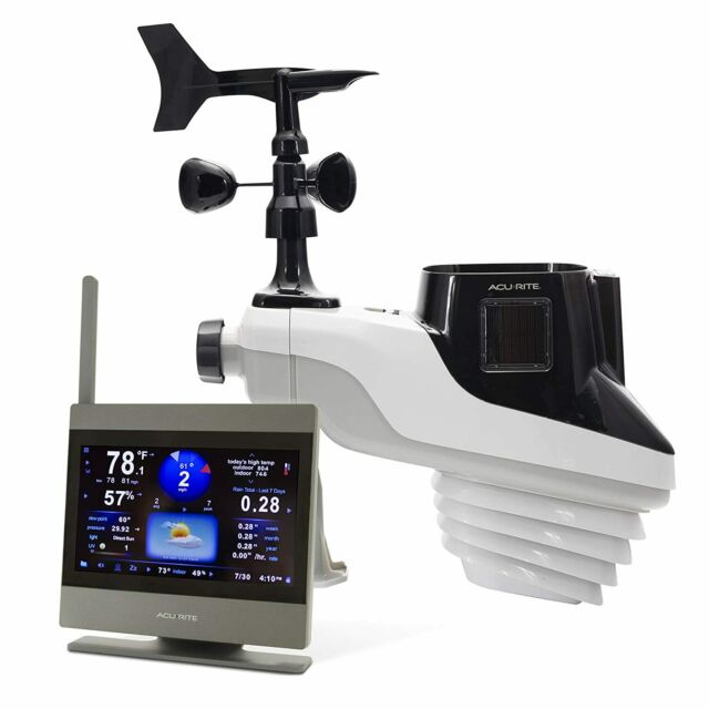 AcuRite 01009M Atlas Weather Station High Definition Touchscreen Display Mount
