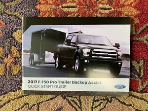 Ford Trailer Backup Assist >> Details About 2017 Ford F150 F 150 Pro Trailer Backup Assist Owners Manual