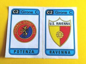 NEW PANINI CALCIATORI 1983/84-Figurina n.565 PAVIA+PERGOCREMA SCUDETTO