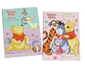 Disney Winnie the Pooh Coloring Book Activity Books Tigger Eeyore ...