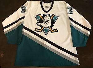 96929af6 Rare Vintage CCM Mighty Ducks of Anaheim 93-94 Hockey Jersey With ...