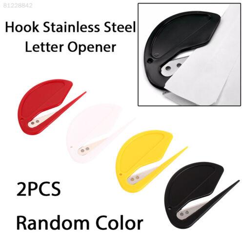 1AF4 834A Opener Student Paper Open Letter Cutter Convenient 2pcs//Set Protect