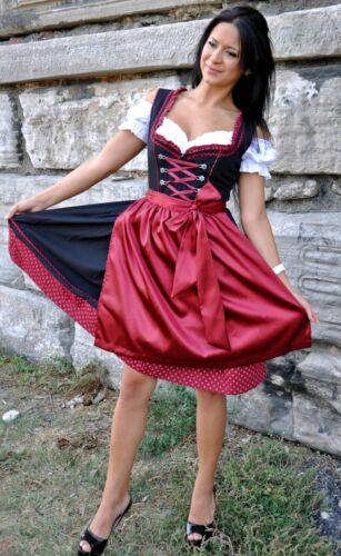 130.- Oktoberfest Gr.34 bis 52 !!ORIGINAL LIFOS!! Dirndl Trachtenkleid 3Tlg