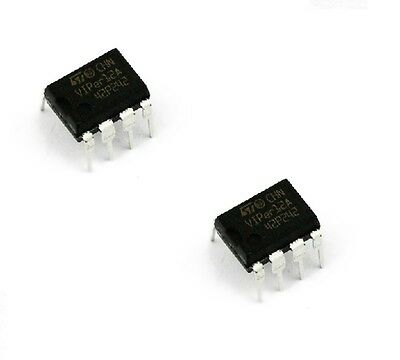 10PCS SMPS Primary Switcher IC ST DIP-8 VIPER12 VIPER12A VIPER12ADIP