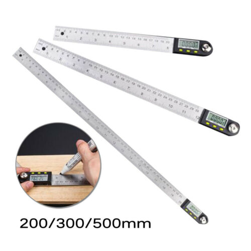 Ruler Digital Angle Finder Measuring Adjustable Carpentry 360° Electronic