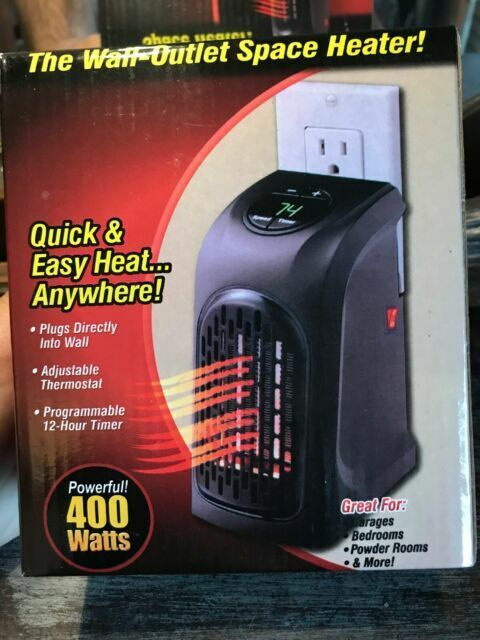 Handy Heater Portable Ceramic Space Heater  Brand new and Fa