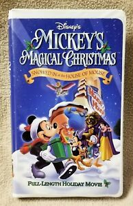 Mickeys Magical Christmas Snowed In At The House Of Mouse.Details About Disney Mickey S Magical Christmas Snowed In At The House Of Mouse Vhs Video Tape