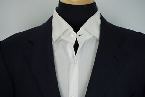 Ermenegildo-Zegna-Blue-Woven-100-Wool-Sport-coat-Jacket-Sz-44L