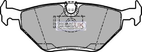 Front Brake Pads ROVER 75 2.0 V6, Petrol, 02//99-