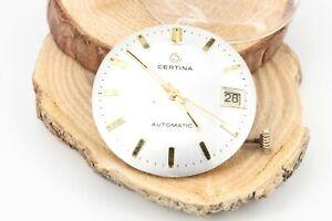Certina-Datum-Automatik-Uhrwerk-Kaliber-25-651-mit-Krone-und-Scheibe-30mm