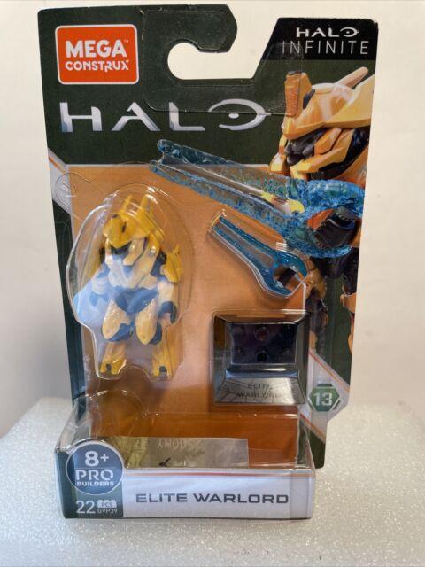 Mega Construx Halo Infinite Series 13 ELITE WARLORD 22pcs GVP39 NEW on Card