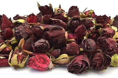 Originale Red Boccioli Di Rose 500g, Fiori Secchi Bagno Craft Tè, Potpourri, Saponi Candela, Arredamento-mostra Il Titolo Originale