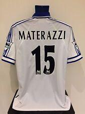 Everton FC MATERAZZI 98/99 Away Football Shirt (L) Soccer Jersey