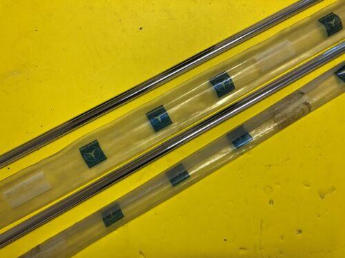 Mercedes W114 W115 Roof Rain Rail Gutter Moulding trim Set Genuine NOS
