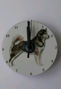 Alaskan-Malamute-CD-Clock-by-Curiosity-Crafts