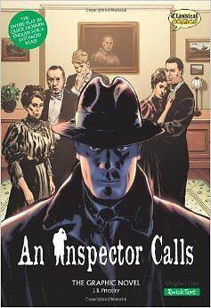 An Inspector Calls Priestley New Paperback Book Jason C The Graphic Novel J.B