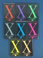 X De Clamp Lot 8 Mangas / Tomes Vol 1 2 3 4 5 6 7 8 a