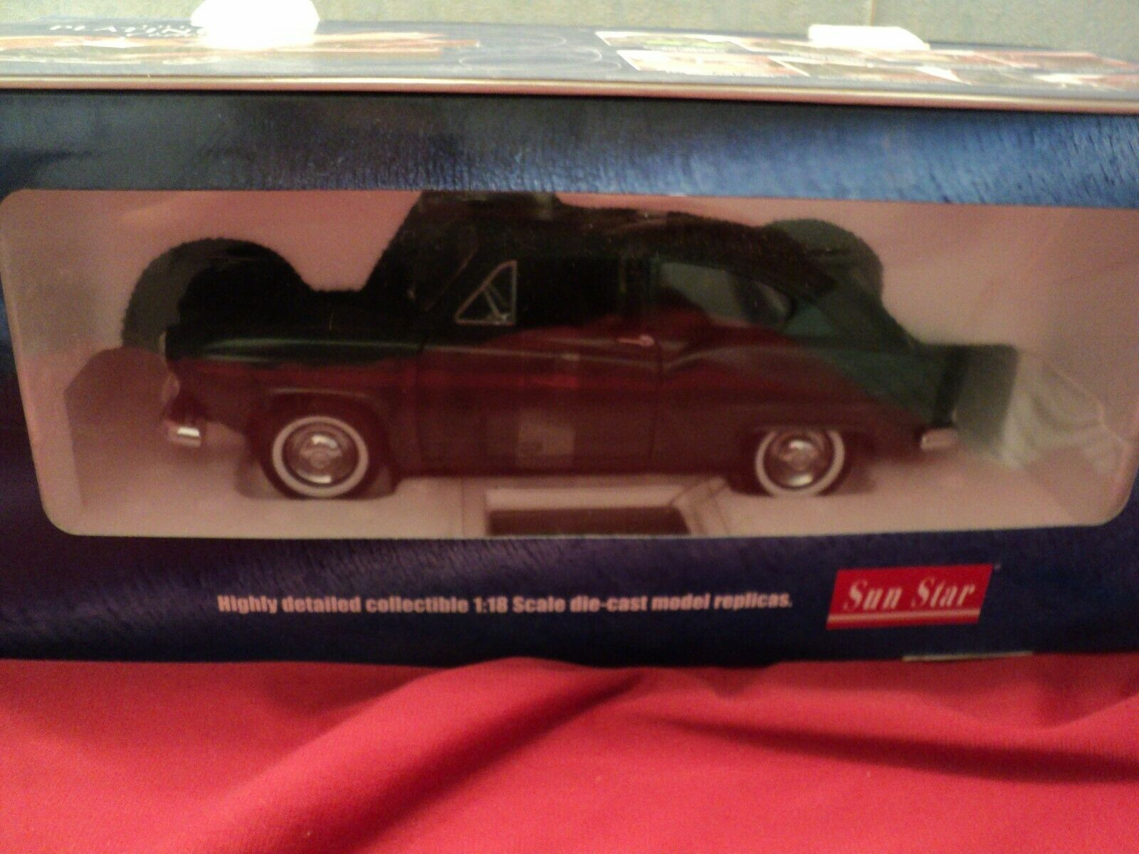 SUN STAR 1951 KAISER HENRY J 1 18 scale NEW IN BOX  PLATINUM COLLECTION