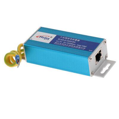 100/1000Mbps RJ45 Ethernet Network Device Surge Protector Lightning Arrester