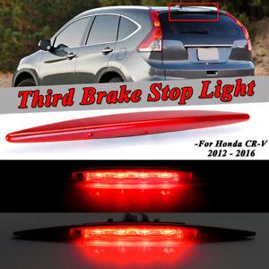 Red High Mount 3rd Brake Tail Lights Stop Lamp Replaced For Honda CR-V CRV 12~16