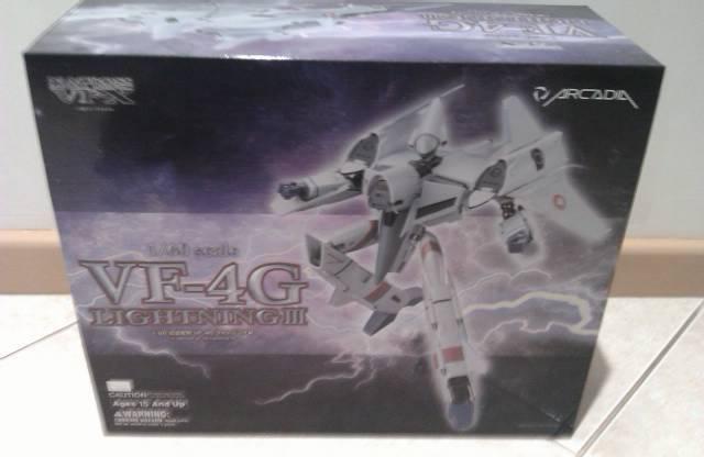 Arcadia Macross   Robotech Vf-4G  lumièrening  bon shopping