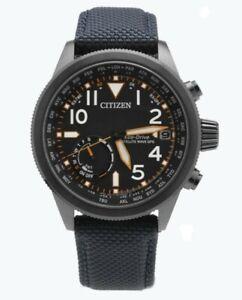 Citizen Eco-Drive Satellite Wave GPS Men's World Time 44mm Watch CC3067-02E