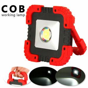 2pcs-Projecteur-chantier-50W-Lampe-d-039-atelier-LED-COB-alimentee-batterie-travail