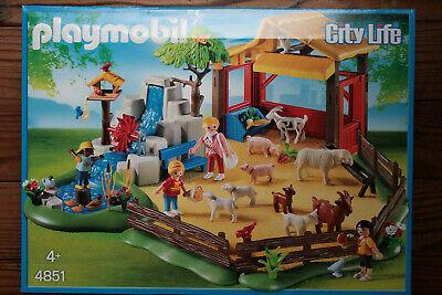 BRAND NEW Playmobil City Life Zoo Animals Flamingo Family Pack 12 Pieces #6651