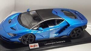 Lamborghini Centenario Metallic Blue Nib Ebay