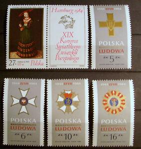 Polen - Michel-Nr. 2920 Zf , 2926 - 2929 - postfrisch ** - Tamm, Deutschland - Polen - Michel-Nr. 2920 Zf , 2926 - 2929 - postfrisch ** - Tamm, Deutschland