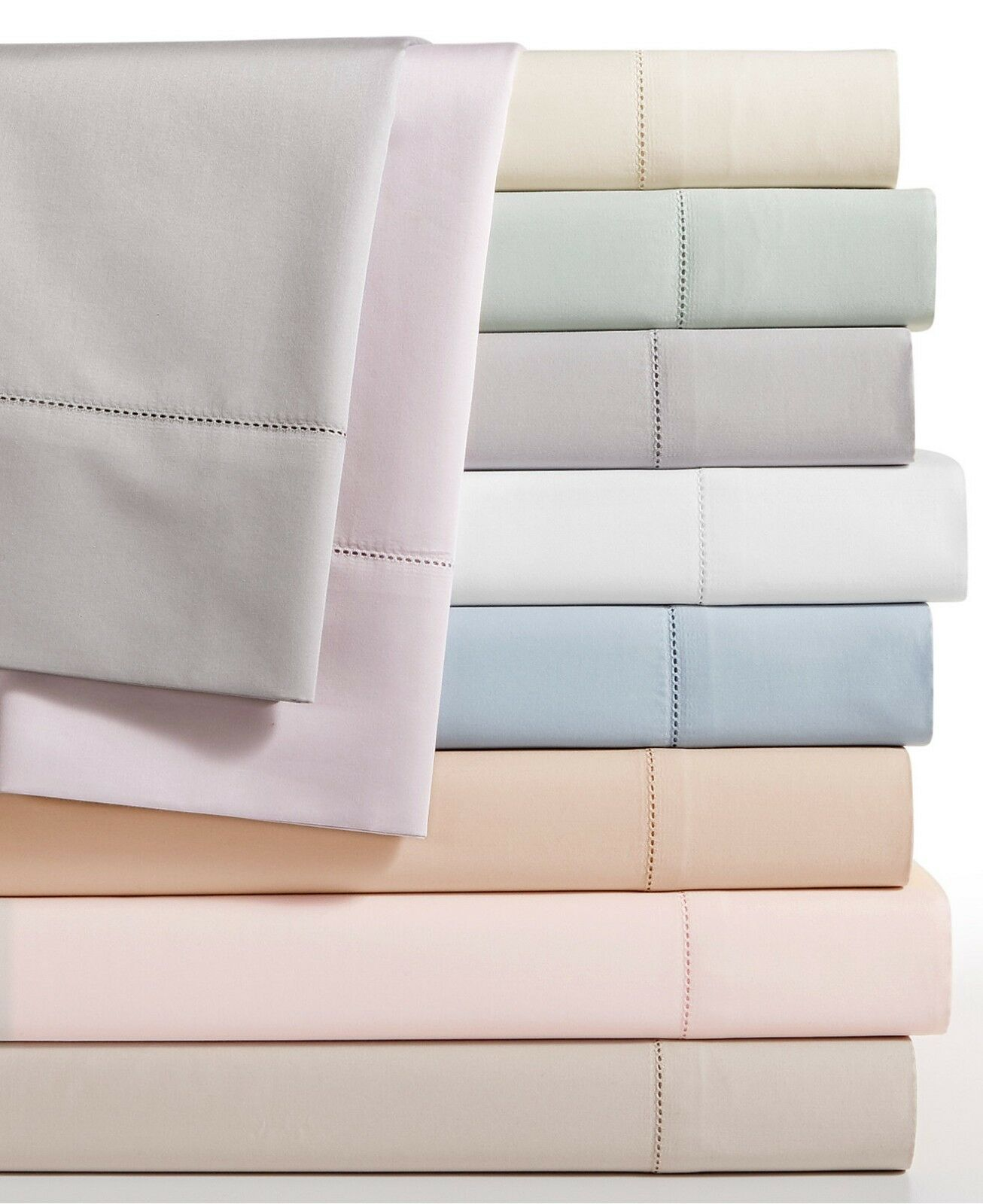 Hotel Collection 680 TC Supima Cotton CAL KING Fitted Sheet IVORY Bedding E91032