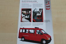 160685) VW LT 31 35 Kombi - Feuerwehr - Prospekt 03/1998