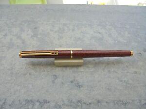 Estilografica (fountain Pen) Inoxcrom Mod. Granada Marron Y Dorado AÑos 2010 Remise En Ligne