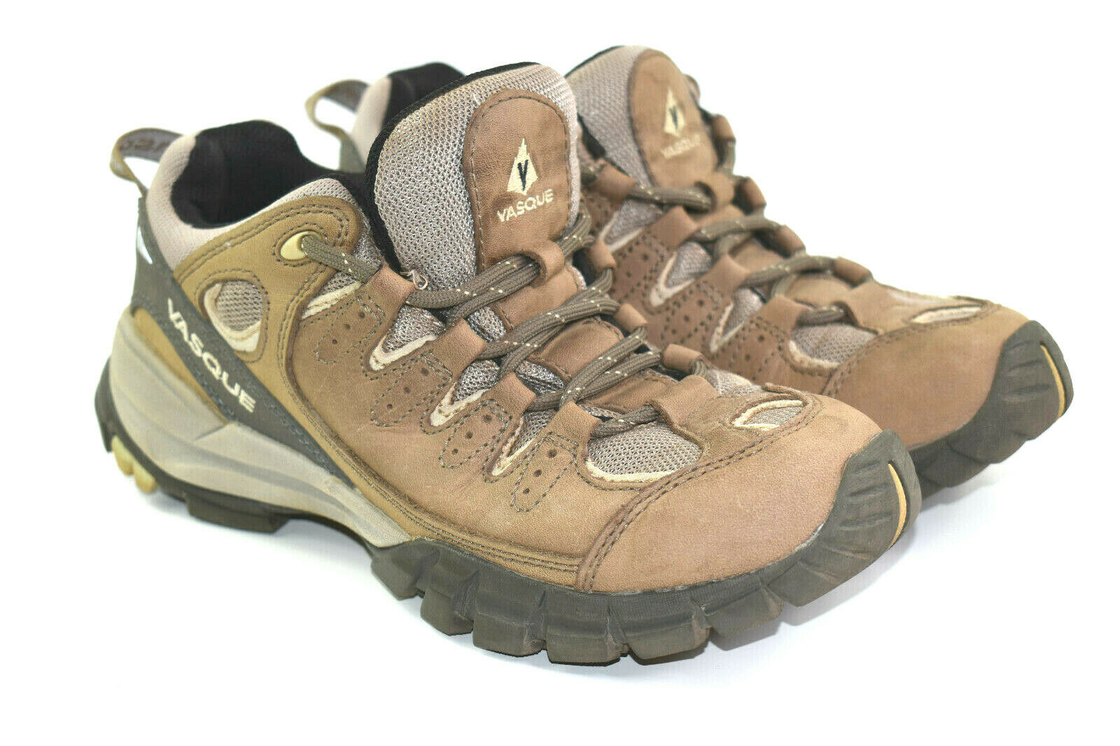 Vasque Mantra Women's Brown Leather Hiking shoes Size 7.5 M