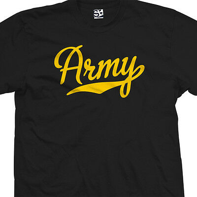 Army Script Tail Shirt - Sports USA US Military Academy Team - All Size & Colors