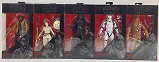 Star Wars The Force Awakens Lot of 5 - Finn Rey Kylo Ren Stormtrooper Chewbacca