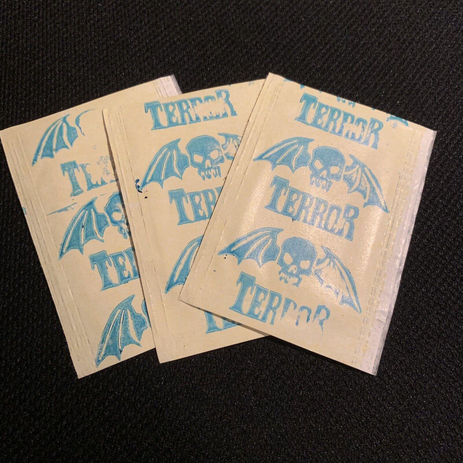 Venezuela 198s Reyauca Cromos Terror sticker pack