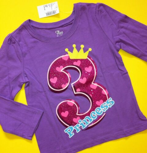 """NEW 1st 2nd 3rd 4th /""""It/'s My BIRTHDAY/"""" Girls Shirt 12-18 Months 2T 3T 4T 5T Gift"""