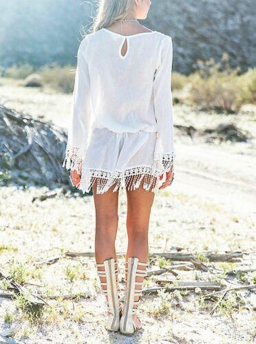 COV0018 Vestito Copricostume Donna Mini Dress Caftano Cover up Kaftan