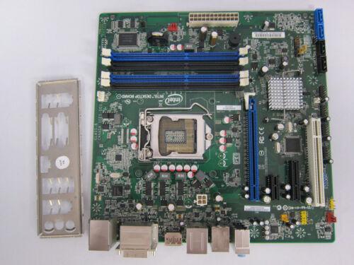 I//O shield FULLY TESTED LGA1155 SOCKET MICRO ATX Intel Motherboard DQ67SW